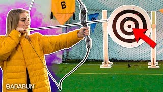 YouTubers VS Tiro al blanco | Donde ponen el ojo no ponen la flecha
