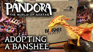 Adopting a Banshee from the Rookery - Pandora: The World of AVATAR at Disney
