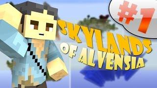 MINECRAFT : SKYLANDS OF ALVENSIA - ESPLORIAMO L'ISOLA!! #1