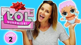 LOL Series 2 Baby Dolls and Lil Sisters Toy Unboxing - Surprise Balls/Surprise Eggs DCTC