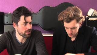 Balthazar interview - Jinte en Maarten (deel 1)