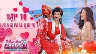 Khúc hát se duyên tập 10 vòng làm quen: Phạm Linh đỏ mặt khi Kiều Minh Tuấn liên tục hôn Cát Phượng