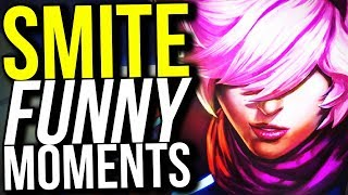 I AM SO DONE WITH THIS GAME! - SMITE FUNNY MOMENTS