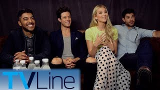 Stitchers Interview | Comic-Con 2017 | TVLine