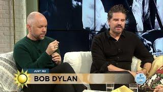 Sigge Eklund & Tomas Andersson Wij om Dylans stil, språk, musik och ord - Nyhetsmorgon (TV4)
