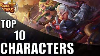 Top 10 Soul Hunters Characters