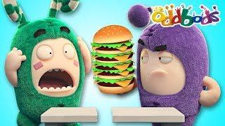 Oddbods NEW | FOOD FIASCO #5 | Funny Cartoons For Kids | The Oddbods Show