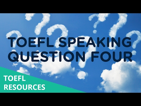 toefl integrated essay video lecture 2