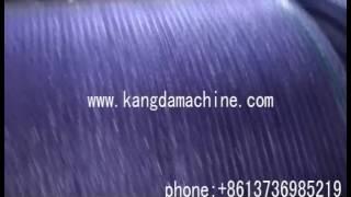 High Speed Green Shade Net Knitting Machine