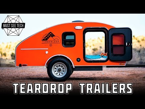 7 BEST Teardrop Trailers and Retro Camping Vehicles for Comfortable Traveling