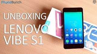 Lenovo Vibe S1 India Unboxing and Mini Review after 2 days of Usage