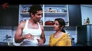 Randeep Scene With Aunty || Ayanaki Aaiduguru Movie || Sadha, Riya Sen