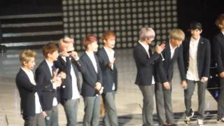 130825 EXO - Talk @ M! Countdown What's Up LA (KCON 2013)