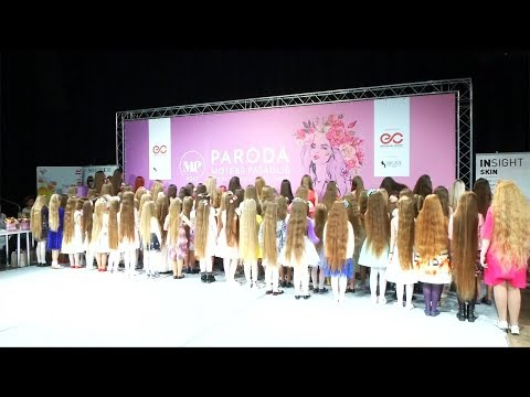 Xxx Mp4 Lithuanian Women Compete In Annual Long Hair Competition 3gp Sex