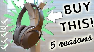 5 reasons to buy the Sony MDR-1000X (after 6 months) | DHRME #29