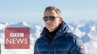 James Bond: Train like 007 - BBC News