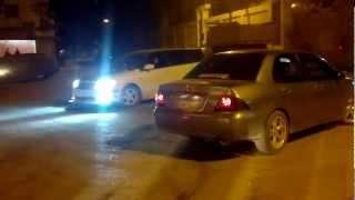 تفحيط وهجوله سيارات شباب الفيوم بحي الجامعه