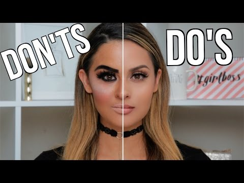 Makeup Mistakes To Avoid - Do's & Don'ts