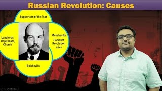 WH-Russian Revolution (1917) Part-I: Socio Economic Causes behind the proletariat revolution