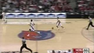 Davidson vs. NC State 2008 Highlights