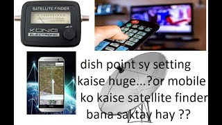 dishpoint apps part 2 | Dish antenna angle point | apk android apps | satellite finder-URDU+hindi