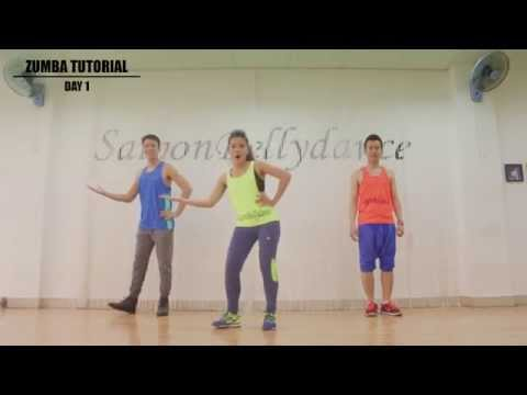 Zumba Dance Workout For Beginners Step By With Music New Part 1 Duration 4 52 Min