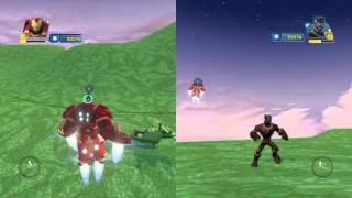 Disney infinity 3 0 hulkbuster vs.Black panther