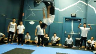 INVINCIBLE WORLDWIDE 2013 Autumn Level-Up Day | Martial Arts and Tricking