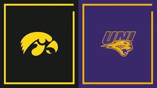 First Half Highlights: Northern Iowa vs. Iowa | Big Ten Basketball
