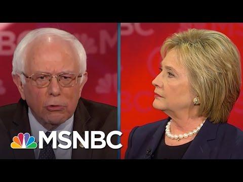 Bernie Sanders Money In Politics Ruins Democracy Democratic Debate MSNBC