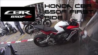 Honda CBR650F India Exhaust Note/First Ride/First Impressions