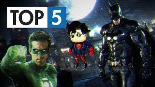 TOP 5 - Nejlepších DC her