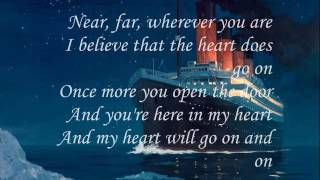 Titanic song with lyrics in English