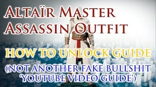 Assassin's Creed Unity HOW TO UNLOCK ALTAIR OUTFIT Tutorial