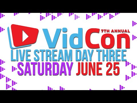 VidCon Live Day 3