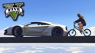 GTA V Online: BMX vs ZENTORNO - A SUPERAÇÃO !!
