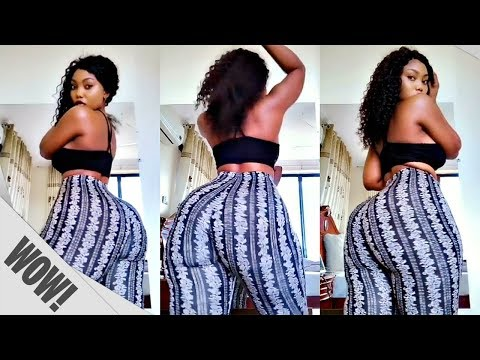 WOW! SanchiWorld - Big Booty African Girl Dancing!