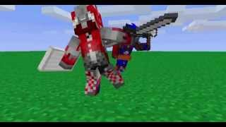 Transformers dotm Optimus prime vs Sentinel prime vs Megatron MINECRAFT VERSION