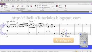 Sibelius 7 First Sticky Tuplets