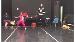 Princessmaji dancing to baby got back