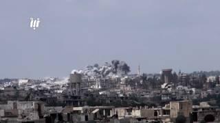 بأكثر من 50 غارة جوية خلال يومين  الطيران الروسي يكثف قصفه على أحياء مدينة درعا