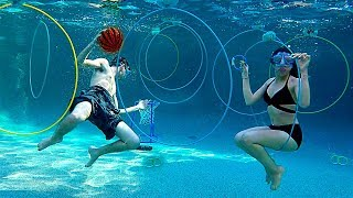 EXTREME UNDER WATER SWIMMING COMPETITION!