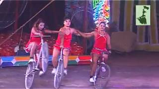 Amazing Riding Cycles by the Beautiful Women | Olympic Circus