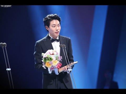 [ENG SUB] 2016.06.03 Ryu Jun Yeol - Best New TV Actor @52nd Baeksang Arts Awards