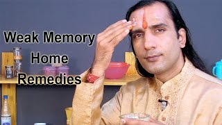 How To Improve Memory With Home Remedies - Sachin Goyal - ekunji