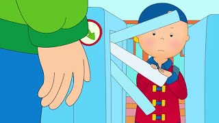 Funny Animated cartoons Kid | Caillou takes the Subway | WATCH ONLINE | Cartoon for Children