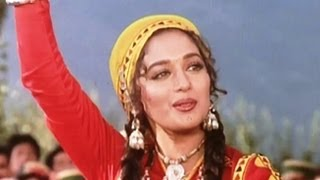 Is Mele Mein Log Aate Hain Full HD Song | Sahibaan | Rishi Kapoor, Madhuri Dixit