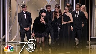 The Marvelous Mrs. Maisel Wins Best TV Series, Comedy at the 2018 Golden Globes