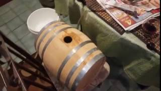 (Part 1) Barrel aged RIS fermentation and transfer