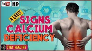 Signs and Dangers of Calcium Deficiency - Calcium Deficiency Symptoms